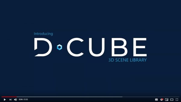 Introducing D CUBE 3D Scene Library